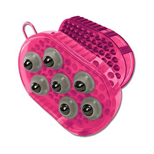 (AL) Massage- Putzhandschuh, pink, pink