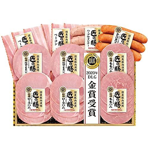 【お中元】プリマハム 国産豚肉原料 匠の膳ギフトスライスセット TZS-498 7256-081
