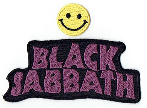 BLACK SABBATH apliques bordados de hierro en parches por PATCH CUBE