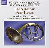 Konzerte für 4 Hörner - American Horn Quartet