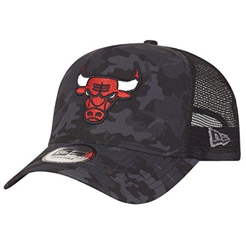 New Era Adjustable Trucker Cap - Chicago Bulls Dark Camo