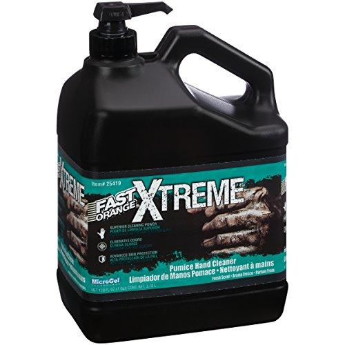 Permatex 25419-4PK Fast Orange Pumice Lotion Hand Cleaner, 1 Gallon...