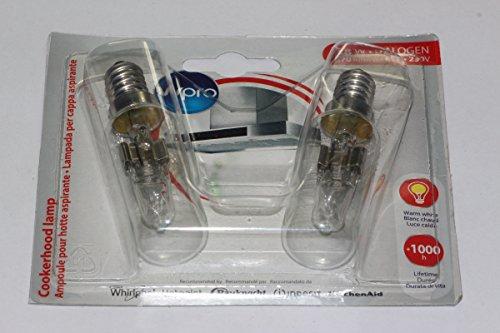 Wpro LMH009 Ampoule pour hotte aspirante, 40 W, E14