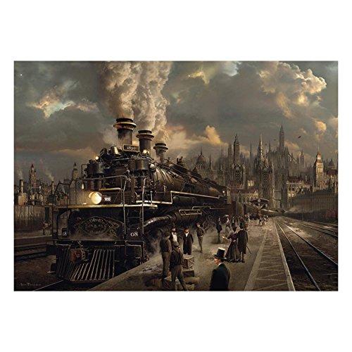 Schmidt Spiele Puzzle 58206 58206-Lokomotive, 1000 Teile Puzzle, bunt