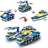 6 in1 Building Bricks Toys, Ro...