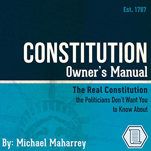 Constitution Owner's Manual  By  cover art