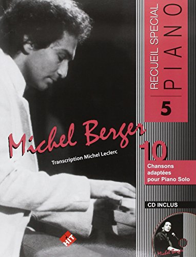 Michel Berger Piano N.5+CD