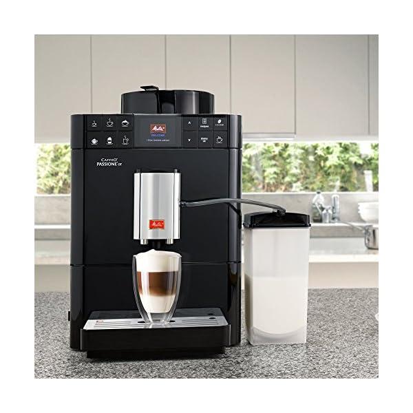 Melitta M/áquina de Caf/é Autom/ática Caffeo Passione OT 1450 W Acero Inoxidable 1.2 litros F531-102 Negro