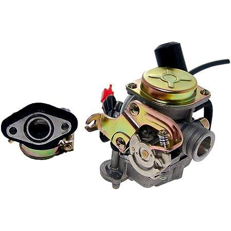 2extreme Standard Vergaser Kompatibel Für Rex Rs450 Typ Qm50qt 6 A Qingqi Auto