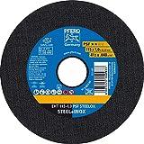 PFERD 61730110 Disco de trennscheibe, Color, Trennscheiben 115 x 1,0 x 22,23 mm