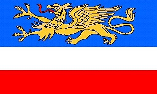 U24 Fahne Flagge Rostock Bootsflagge Premiumqualität 20 x 30 cm