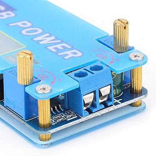 Módulo de aumento de voltaje de tamaño pequeño, Módulo de fuente de alimentación de protección múltiple, Ajuste la corriente de carga máxima Ajuste el voltaje de carga para el enrutador