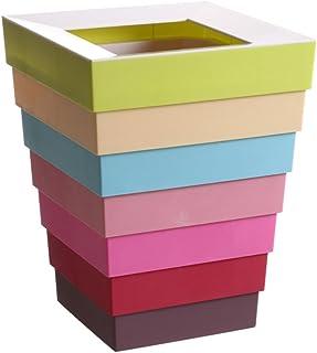 Ndier–Cubo de Almacenamiento 6.5cm Basura Plegable Coche almacenaje Magic Multifuncional 18* 18* 22cm//Altura Plegable