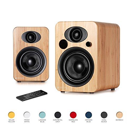 Steljes NS3 Powered Loud Speakers Bookshelf Speakers Stereo System 45W RMS...