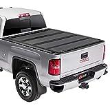 BAK BAKFlip MX4 Hard Folding Truck Bed Tonneau Cover | 448121 | Fits 2014-2018, 19 Ltd/Legacy Chevy/GMC Silverado/Sierra, 2015-19 2500/3500HD 6' 7' Bed (78.9')