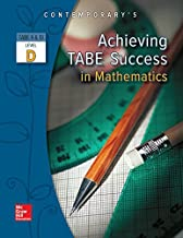 Best achieving tabe success in mathematics level d Reviews