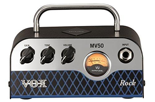 Vox Electric Guitar Mini Amplifier, Black, Deep Red (MV50CR)