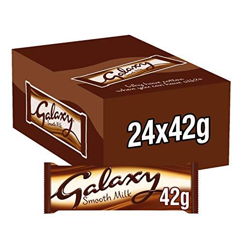 Galaxy Smooth Milk Chocolate, 24 x 42 g
