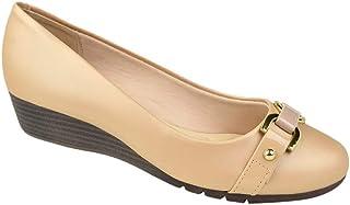 Sapato de Salto Anabela Moleca Feminino