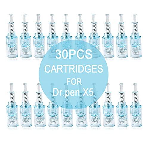 30 piezas Dr. Pen X5 Cartuchos de Agujas Desechable Ranura de Tornillo Piezas de Repuesto,24pin