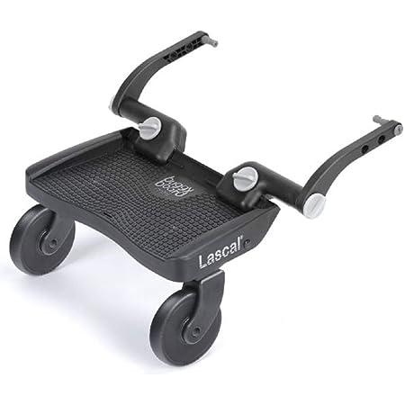 Lascal ラスカル バギーボード 静音ラバータイヤとサスペンションで快適乗り心地 上の子も下の子も一度にお迎えできる 【総輸入販売元】 グレー 1個 (x 1)