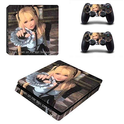 XIANYING Dead Or Alive 6 Ps4 Slim Skin Sticker Vinile per Playstation 4 Console e Controller Ps4 Slim Skin Stickers Decal