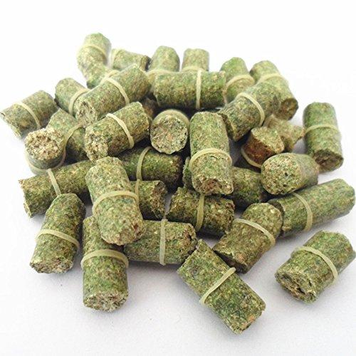 1 bolsa de 60 cebos de pesca de hierba para carpa, aroma fresco de algas marinas, adecuado para la mayoría de anzuelos de pesca (verde)