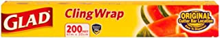 Glad ClingWrap Plastic Wrap - 200 Square Foot Roll