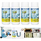 [Family helper]: Food residue on the sink? Yellow-colored washstand? Stubborn Toilet stains? Delimited drainpipe? Pungent bathtub drain? The Pipe Dredge Deodorant is hands down the most. effective cleaning solution for all of the most stubborn surfac...