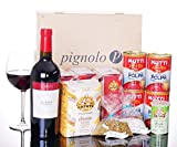 Pignolo Pizza Box Geschenkset zum selber machen - Teig, Tomatensauce wie in der Pizzaria, Box:Box 4