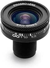 3.4mm Low Distortion 90 Degree Manual Focus Pixaero Lens for YI 4K/4K+