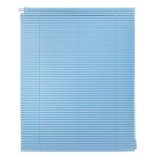 RZEMIN Estor Enrollable, Cortina de Persiana de Hoja de PVC en Forma de S, Persianas Enrollables de Sombra Impermeable, Instalación Sin Perforaciones (Color : A, Size : 45CMX150CM)