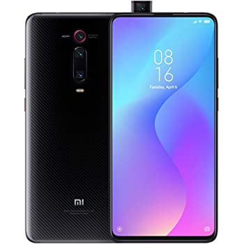 "Xiaomi Mi 9T (64GB, 6GB RAM) 6.39"" AMOLED FHD + Full Screen Display, 48MP Triple Camera, Global 4G LTE Dual SIM GSM Factory Unlocked - International Version, No Warranty (Carbon Black)"