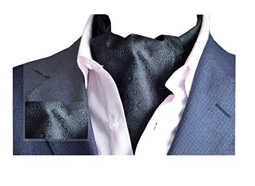 Wookki Cravate Ascot Tie Handmade Fantaisie En Polyester Soie Pour Mariée Cérémonie Fête Party Soirée Business Travail Homme Jeune Garçons A Fleurs No