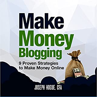 Make Money Blogging audiobook cover art