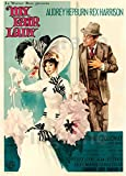 PostersAndCo TM My Fair Lady Film Rvpj-Poster/Kunstdruck 60
