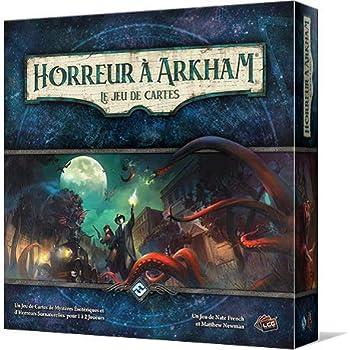 Horreur à Arkham : le Jeu de Cartes - Asmodee - Jeu de société - Jeu de cartes évolutif - Jeu coopératif