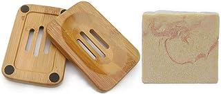 Mijo MOLLE-GERANIUM Ziegenmilchseife, handgemachte Gesicht Naturseife mit Bio Olivenöl, ohne Palmöl ca. 100g  Schale
