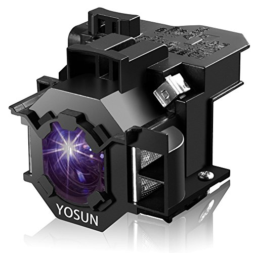 YOSUN V13H010L42 Projector Bulb for Epson ELPLP42 PowerLite Home Cinema 83+ 83C 410W 400W 822P 822+ EB-400WE EMP-400WE 410W 822H 83H EX90 emp-280 Replacement Projector Lamp Bulb