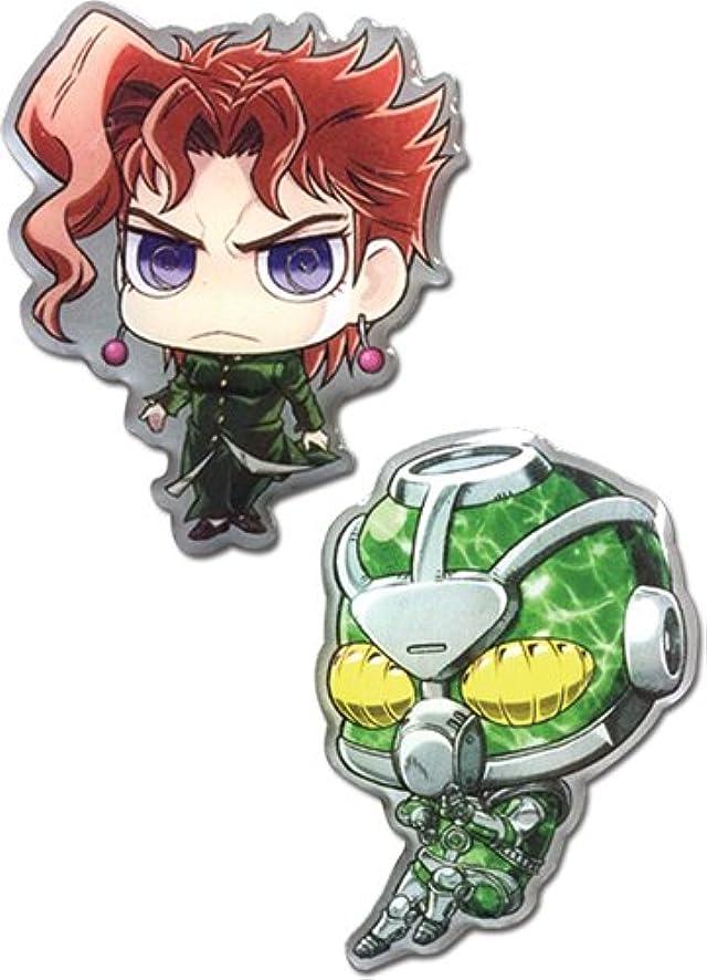 JoJo's Bizarre Adventure: SD Kakyoin & Hierophant Green Sd Pin Set