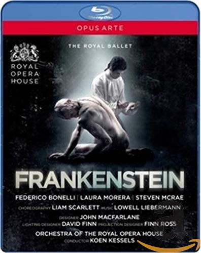 Liam Scarlett: Frankenstein (Royal Ballet, 2016) [Blu-ray]