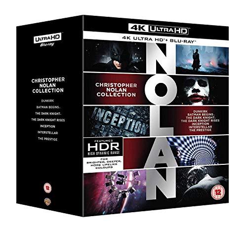 Christopher Nolan Collection [4K Ultra HD] [2018] [Blu-ray]
