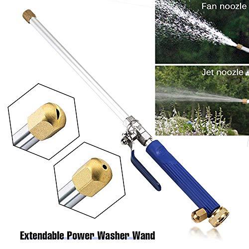 Voiture à haute pression d'eau Gun, Jardin Laveuse Tuyau d'arrosage Baguette Buse Pulvérisateur de pulvérisation gicleurs outil de nettoyage