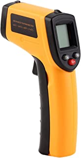 KKmoon Handheld Non-Contact Digital Infrared Ir Thermometer Temperature Tester Pyrometer LCD Display with Backlight