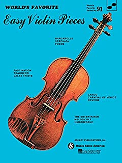 Easy Violin Pieces: World's Favorite Series #91
