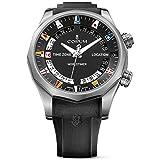 Corum Men's Admiral s Cup Legend 47 Worldtimer 47mm Black Rubber Band Automatic Watch 637.101.04/F371 AN02
