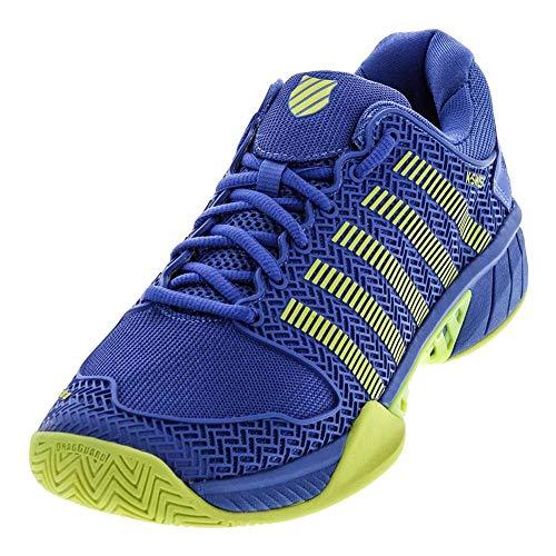 K-Swiss Hypercourt Express Blue/Citron Mens Tennis Shoe 03377-453