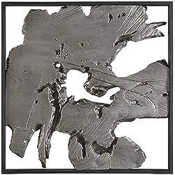 Ashley Furniture Signature Design - Fabiana Wall Decor - Contemporary - Black/Silver Finish