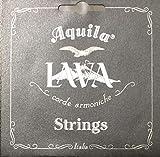 Aquila USA 112U High G Concert Ukulele Set - All Lava Nylgut