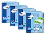 Tena Pants Plus Inkontinenz Hosen für mittlere bis starke Blasenschwäche extra saugstarke Einweghosen für mehr Komfort und Diskretion plus Schutz vor Gerüchen, 4er Pack (4 x 9 Stück), mittel (M)